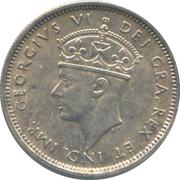 4½ Piastres - George VI – obverse