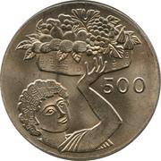 500 Mils (FAO) – reverse