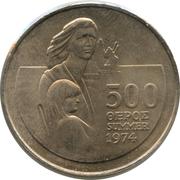 500 Mils (Refugee) – reverse