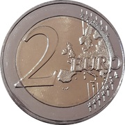 2 Euro (Institute of Neurology and Genetics) -  reverse