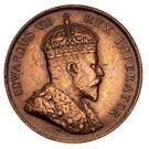 1 Piastre - Edward VII – obverse