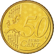 50 Euro Cent -  reverse