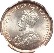 4½ Piastres - George V – obverse