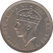2 Shillings - George VI – obverse