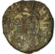 1 Kardez - Hetoum I (solid border; seated on bench type) – reverse