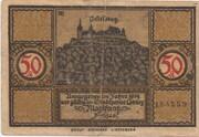 50 Pfennig (Coburg) – obverse