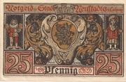 25 Pfennig (Neustadt bei Coburg) – reverse