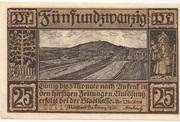 25 Pfennig (Neustadt bei Coburg) – obverse