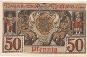 50 Pfennig (Neustadt bei Coburg) – reverse