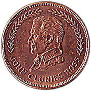 5 Cents (Kingdom Anniversary) – obverse