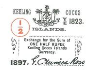 1/2 Rupee – obverse
