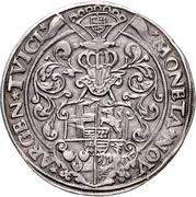 1 Thaler - Johann Gebhard von Mansfeld – reverse