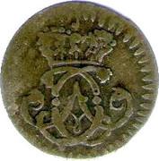 1 Stüber - Clemens August of Bavaria – obverse