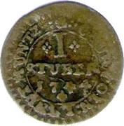 1 Stüber - Clemens August of Bavaria – reverse