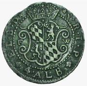 4 Albus - Joseph Clemens von Bayern – reverse