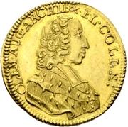 1 Ducat - Clemens August von Bayern – obverse