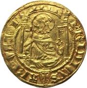 1 Goldgulden - Friedrich III von Saarwerden – obverse