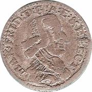 1 Stuber - Maximilian Friedrich von Königseck – obverse