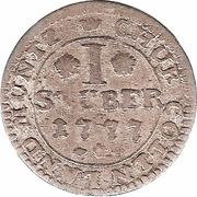 1 Stuber - Maximilian Friedrich von Königseck – reverse