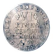 ⅙ Thaler - Joseph Clemens von Bayern – reverse