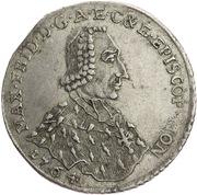 1 Gulden - Maximilian Friedrich von Königseck – obverse