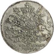 1 Gulden - Maximilian Friedrich von Königseck – reverse