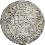 1 Weißpfennig - Ruprecht von der Pfalz – reverse