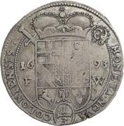 ⅓ Thaler - Joseph Clemens von Bayern – reverse