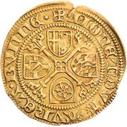 1 Goldgulden - Ruprecht Pfalzgraf bei Rhein – reverse
