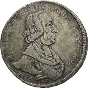1 Thaler - Maximilian Friedrich von Königseck (Konventionstaler) – obverse