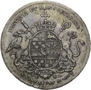 1 Thaler - Maximilian Friedrich von Königseck (Konventionstaler) – reverse