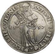 1 Thaler - Anton von Schauenburg – obverse