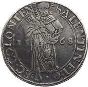 1 Thaler - Salentin von Isenburg – obverse