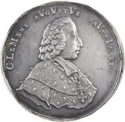 ½ Thaler - Clemens August von Bayern – obverse