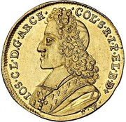 1 Ducat - Josef Clemens – obverse