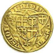 1 Goldgulden - Friedrich III von Saarwerden – reverse