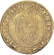 1 Postulatsgoldgulden - Dietrich II von Moers (Deutz) – obverse