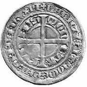 1 Tournose Groschen - Walram von Jülich – reverse