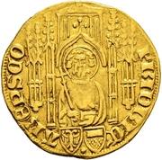 1 Goldgulden - Friedrich II von Saarwerden – obverse