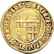 1 Goldgulden - Dietrich II von Mörs (Riehl) – reverse