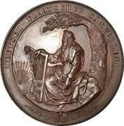 Medal - 1st German-Flemish singing festival in Cologne – obverse