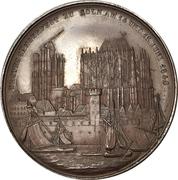 Medal - 1st German-Flemish singing festival in Cologne – reverse