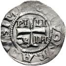 1 Pfennig - Piligrim, with Konrad as Emperor – obverse