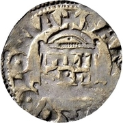 1 Denar - Konrad II. and archbishop Pilgrim – reverse