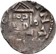 1 Denar - Hermann II, with Konrad II. -  reverse