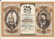 25 Pfennig (Dellbrücker Volksbank) – obverse