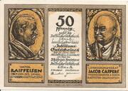 50 Pfennig (Dellbrücker Volksbank) – obverse