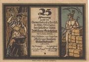 25 Pfennig (Gewerbebank Köln-Mülheim) – obverse