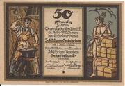 50 Pfennig (Gewerbebank Köln-Mülheim) – obverse