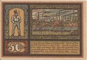 50 Pfennig (Gewerbebank Köln-Mülheim) – reverse